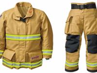 Przykład odzieży strażackiej