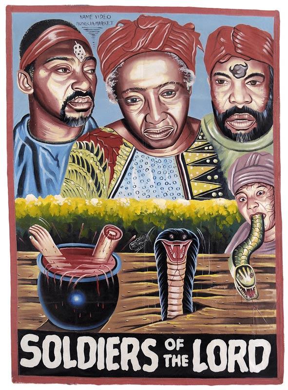 Plakaty filmowe z Ghany