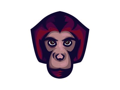 Logo Monkey Mascot logo
