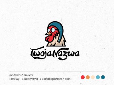 Logo Latający kogut