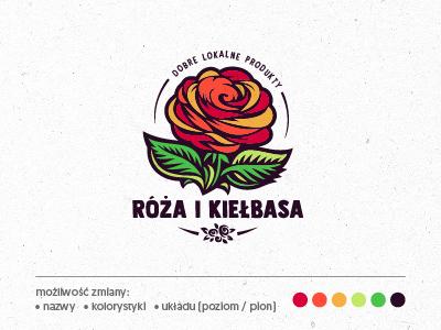 Logo Kiełbasa i Róża