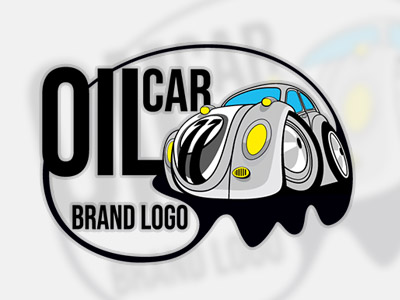 Logo oil car logo